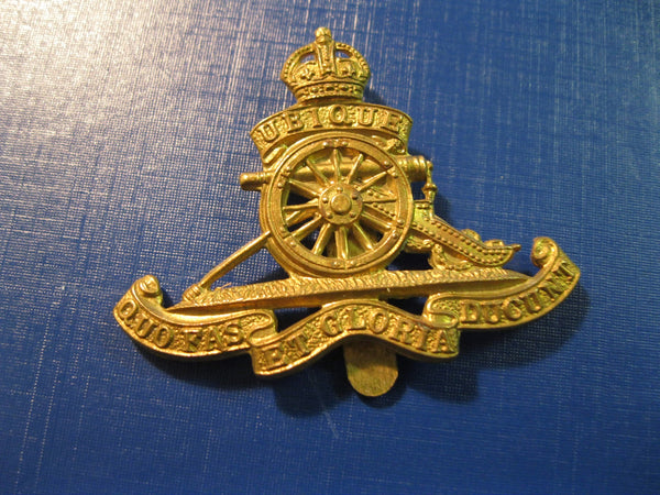 Royal Artillery Corps Beret Cap Badge