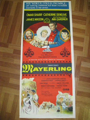 "1968 - Australian "" Mayerling "" Day Bill"