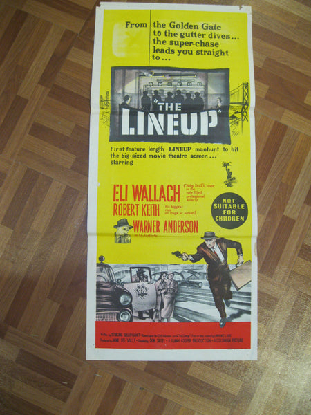 1958 - The Line Up Movie Day Bill