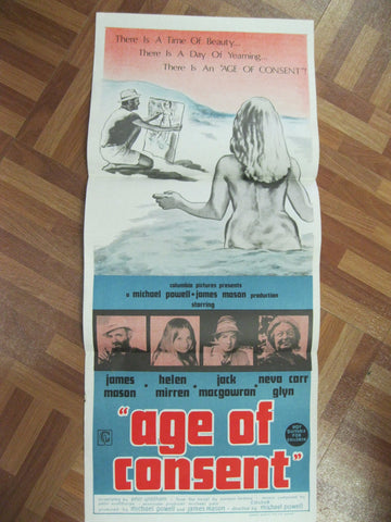 "1969 - "" The Age of Consent "" Day Bill Poster"