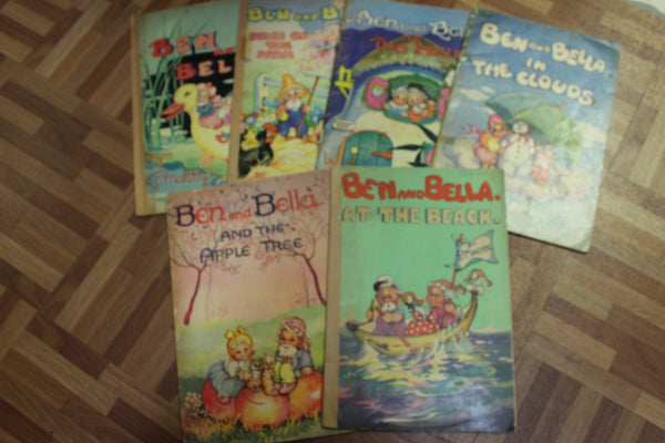 6 - 1947 Ben and Bella Books