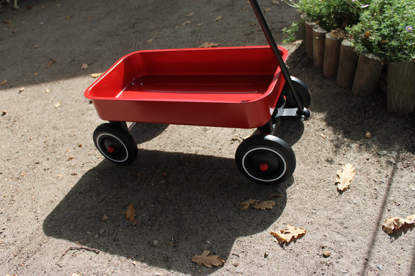 Child's Red Pull Wagon
