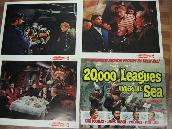 20,000 Leagues Under The Sea Lobby Card Set