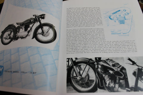 1950's - BMW Motorcycles Catalogue