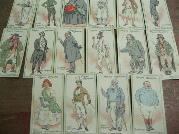 Player Cigarettes Dickens Cards
