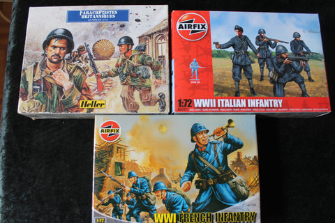 1:72 - Soldier Figure Kits