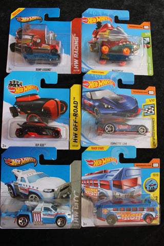 6 - Hot Wheels Models