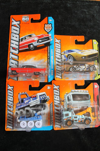 4 - Assorted Matchbox Models