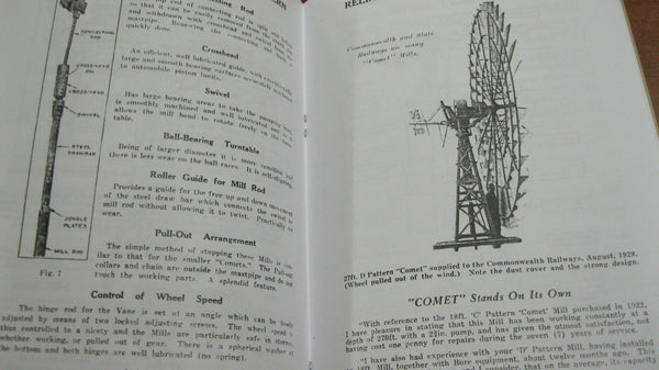 Comet Windmills Catalogue.