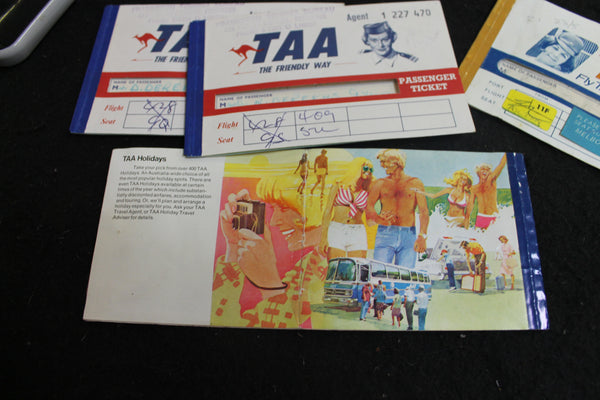 1960's - TAA Ephemera Lot