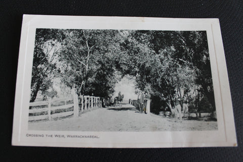 Vintage Warracknabeal Postcard