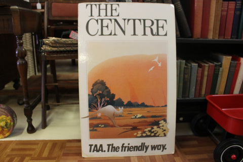 Original 1970's TAA Travel Poster