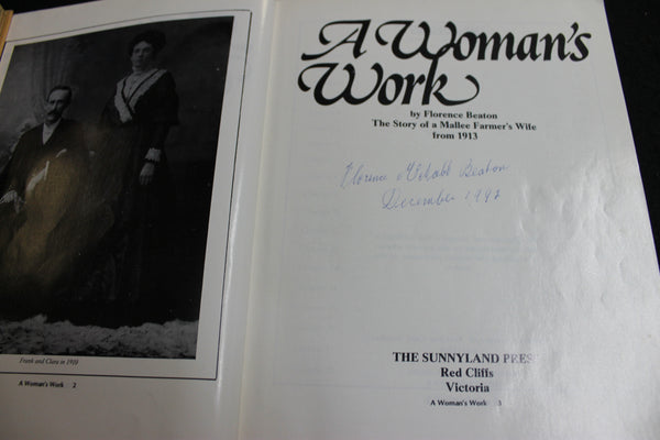A Women's Work by Florence Beaton