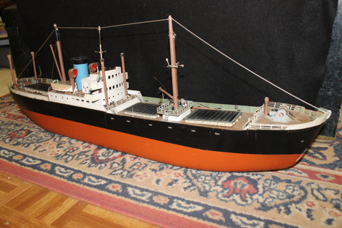 Large  Hand Built Model of the Karitane Napier