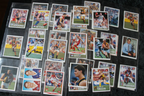 1990's - Football Stickers Lot