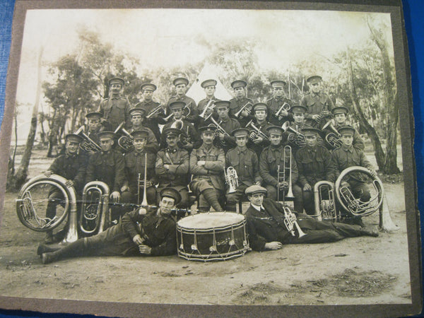 WW1 - Australian Military Band Photo