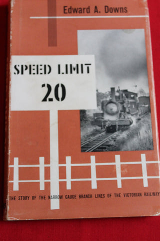 Speed Limit 20 , Narrow Gauge Branch Lines - Victoria