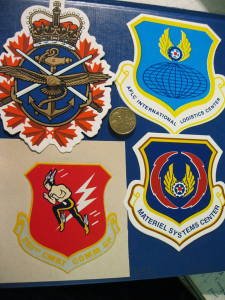 4 - Military Related Decals