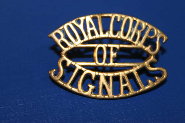 Royal Corps of Signals Sleeve Title