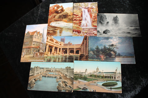 8 - Assorted Postcards