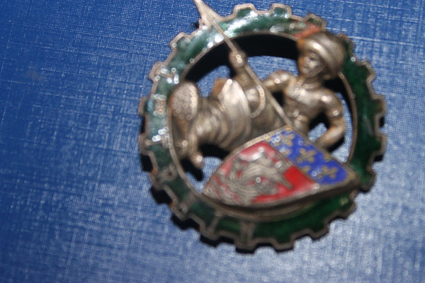French 1st Train Regiment Cap Badge