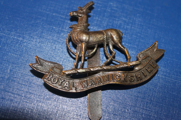 Royal Warwickshire Regt Cap Badge