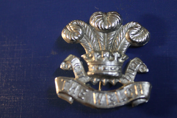 The Welsh Regiment Cap Badge