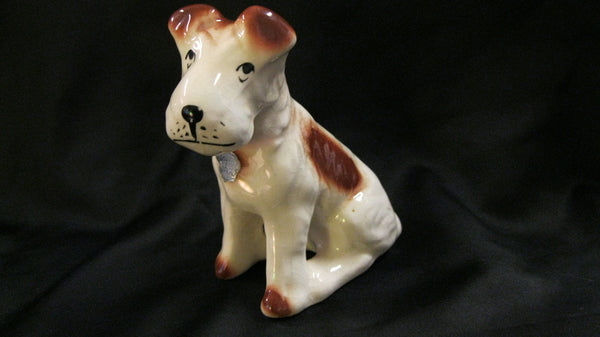 Pasey Ware Dog Figure.