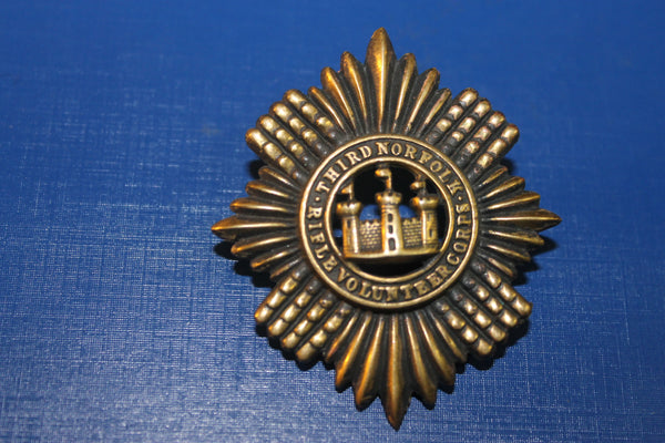 Third Norfolk Rifle Volunteers Cap Badge