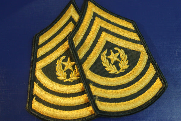 US - Command Sergeant Major Rank Pair