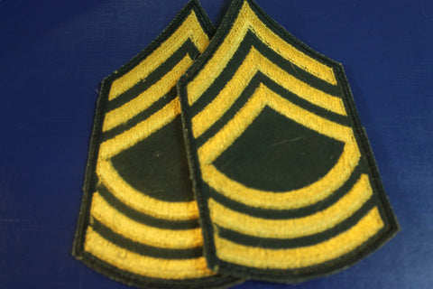 US - Master Sergeant Rank Pair