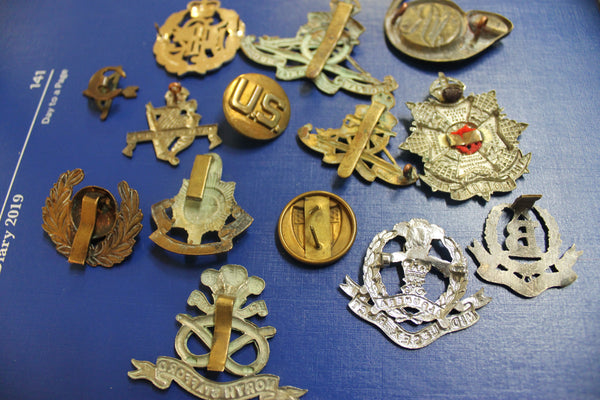 Assorted Badge Lot in Mixed Condition