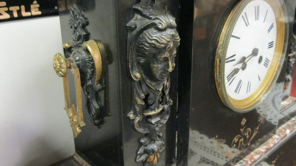 Large French Striking Mantle Clock