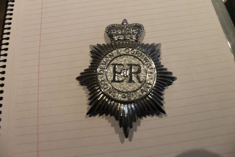 Devon & Cornwall Constabulary Helmet Plate