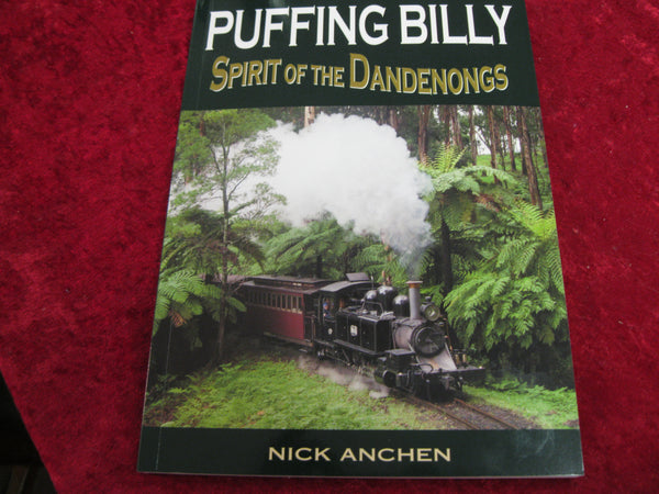 New Updated Puffing Billy Book by Nick Anchen