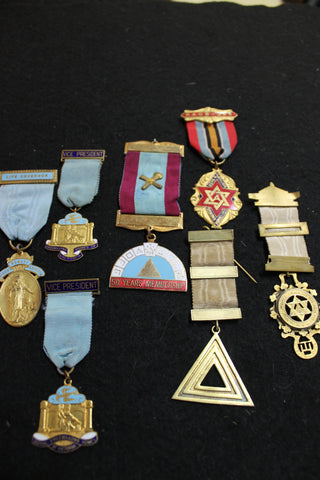 Collection of Masonic Medals