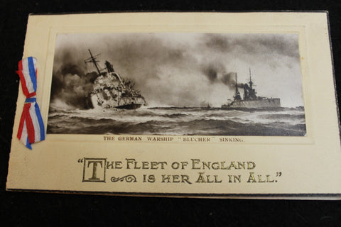 1915 - English Fleet Christmas Card