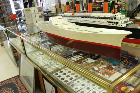 Large Model of NS Savannah - 1st Nuclear Powered Merchant Ship