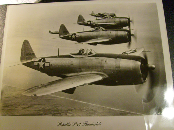 Large P-47 Thunderbolt Photo