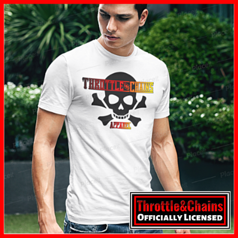 Skull And Bones Dark Print Design Ultra Cotton T-Shirt