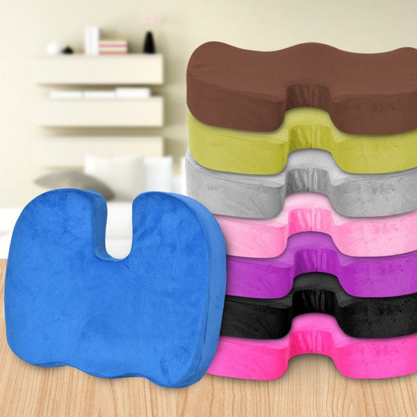 Orthopedic Memory Foam Breathable Seat Cushion For Pain Relief
