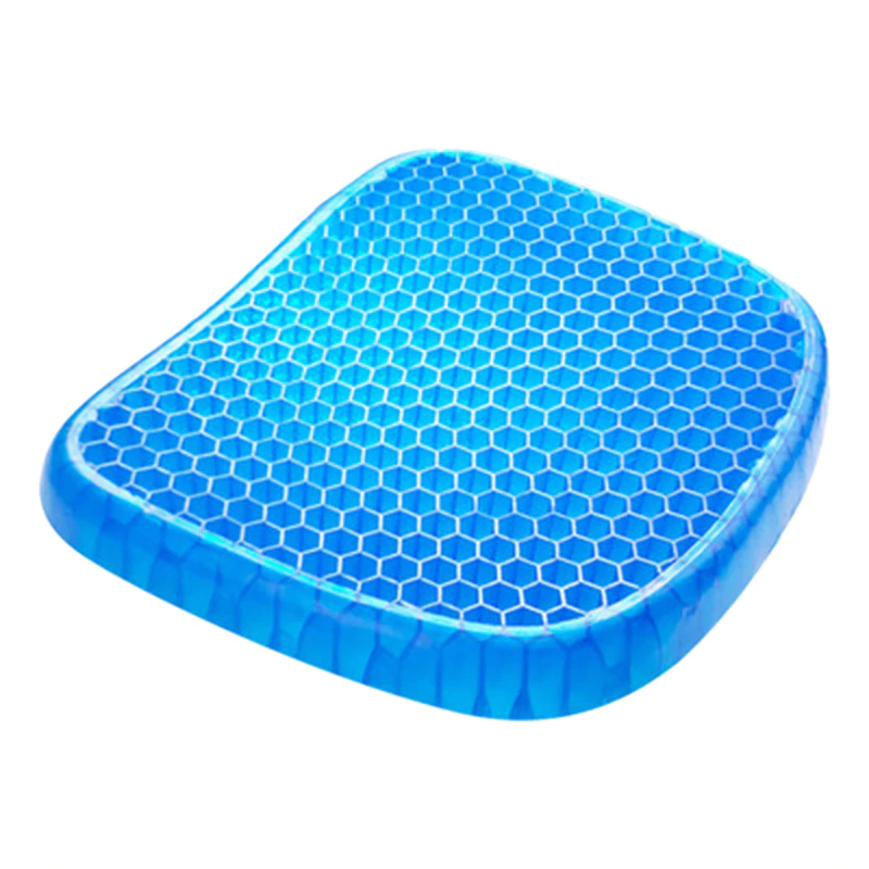 Gel Seat Cushion Support Pad for Chair & Car - Tailbone, Coccyx