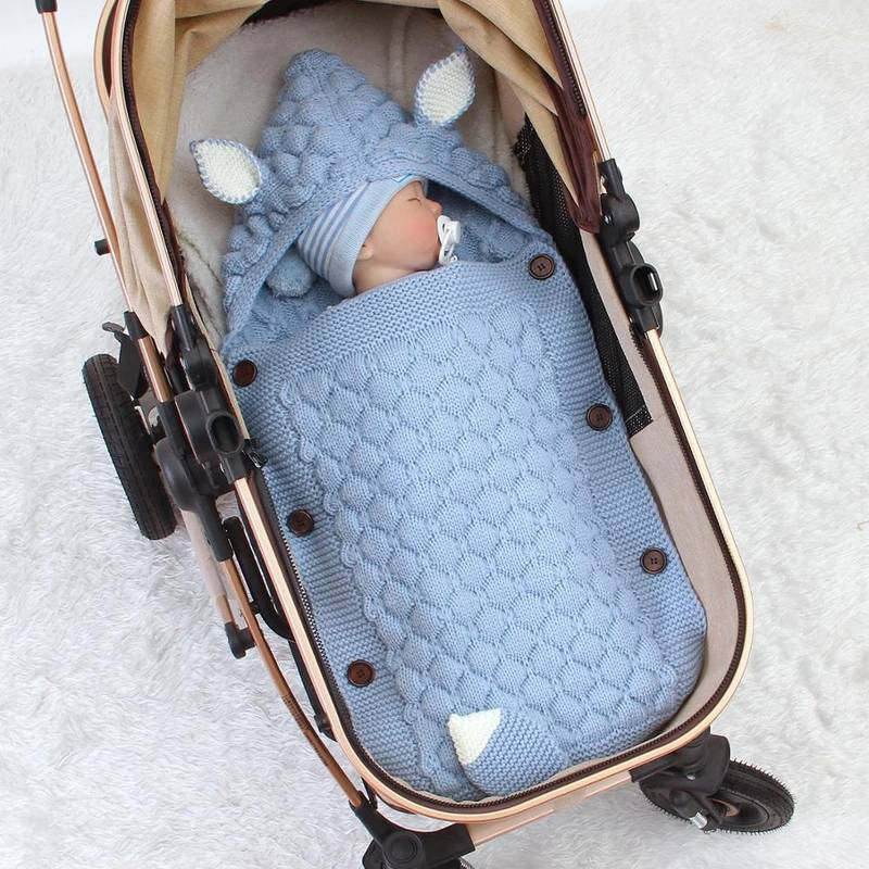 Newborn Baby Wrap Sleeping Bags 0-6M