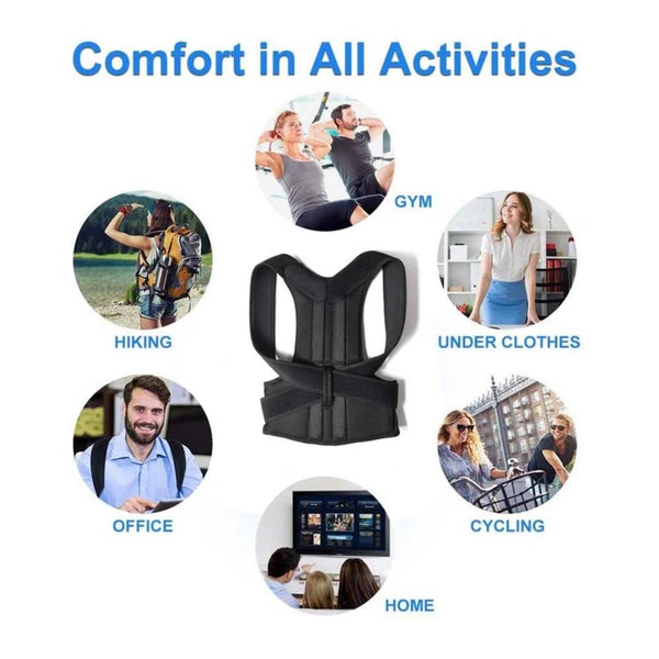 Posture Corrector Back Brace for Men and Women