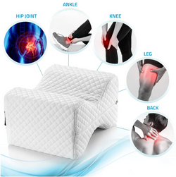 OrthoCloud™ Leg Knee Pillow Contour Memory Foam Wedge