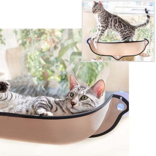 Furwell™ Cat Window Hammock Perch