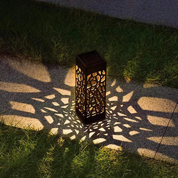 Outdoor Solar Lights LED for Garden Deck Fence Post Landscape Yard