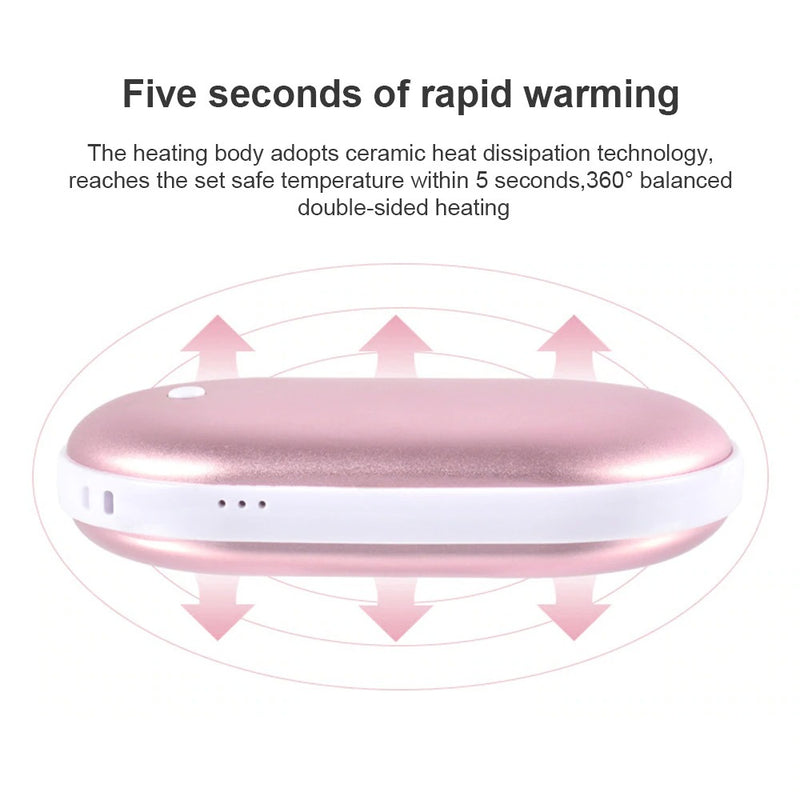 Rechargeable Electric Hand Warmer 5200mAh