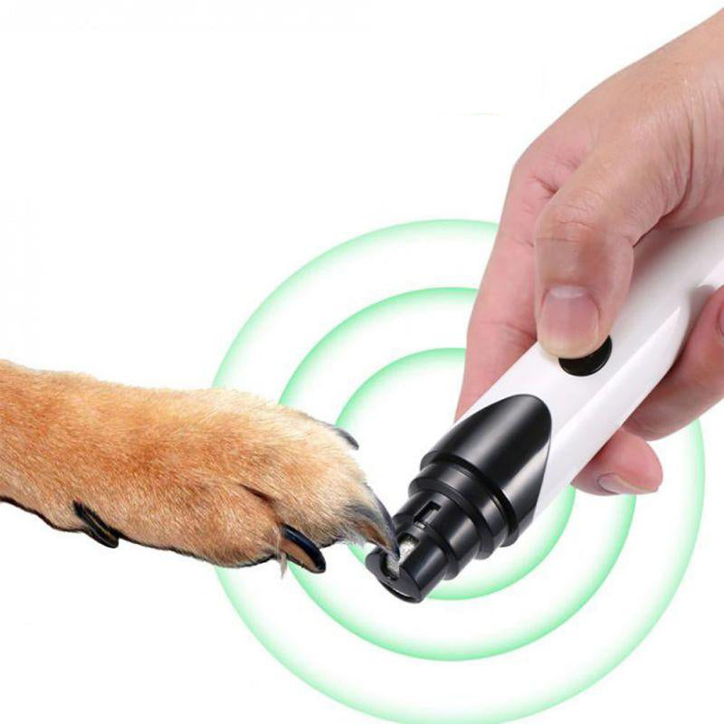 Dog Nail Trimmer Electric Rechargeable Cutter Clippers
