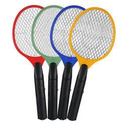 Electric Fly Swatter Hand Held Bug Zapper Tennis Racket